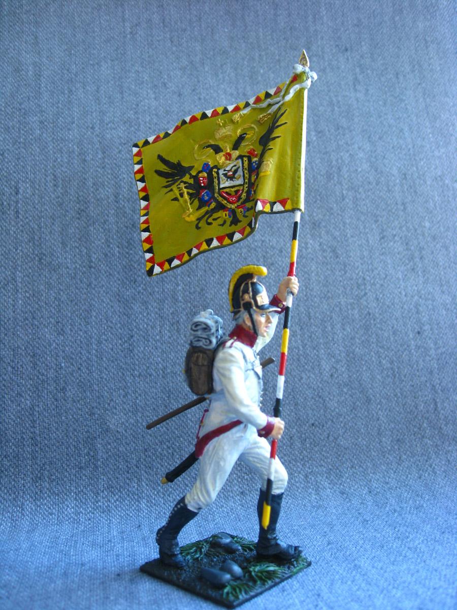 Учебка: Знаменосец 1-го полка линейной пехоты Кайзера Франца Иосифа I, фото #2