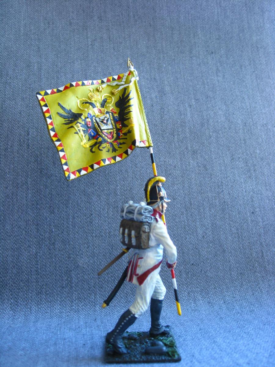 Учебка: Знаменосец 1-го полка линейной пехоты Кайзера Франца Иосифа I, фото #3