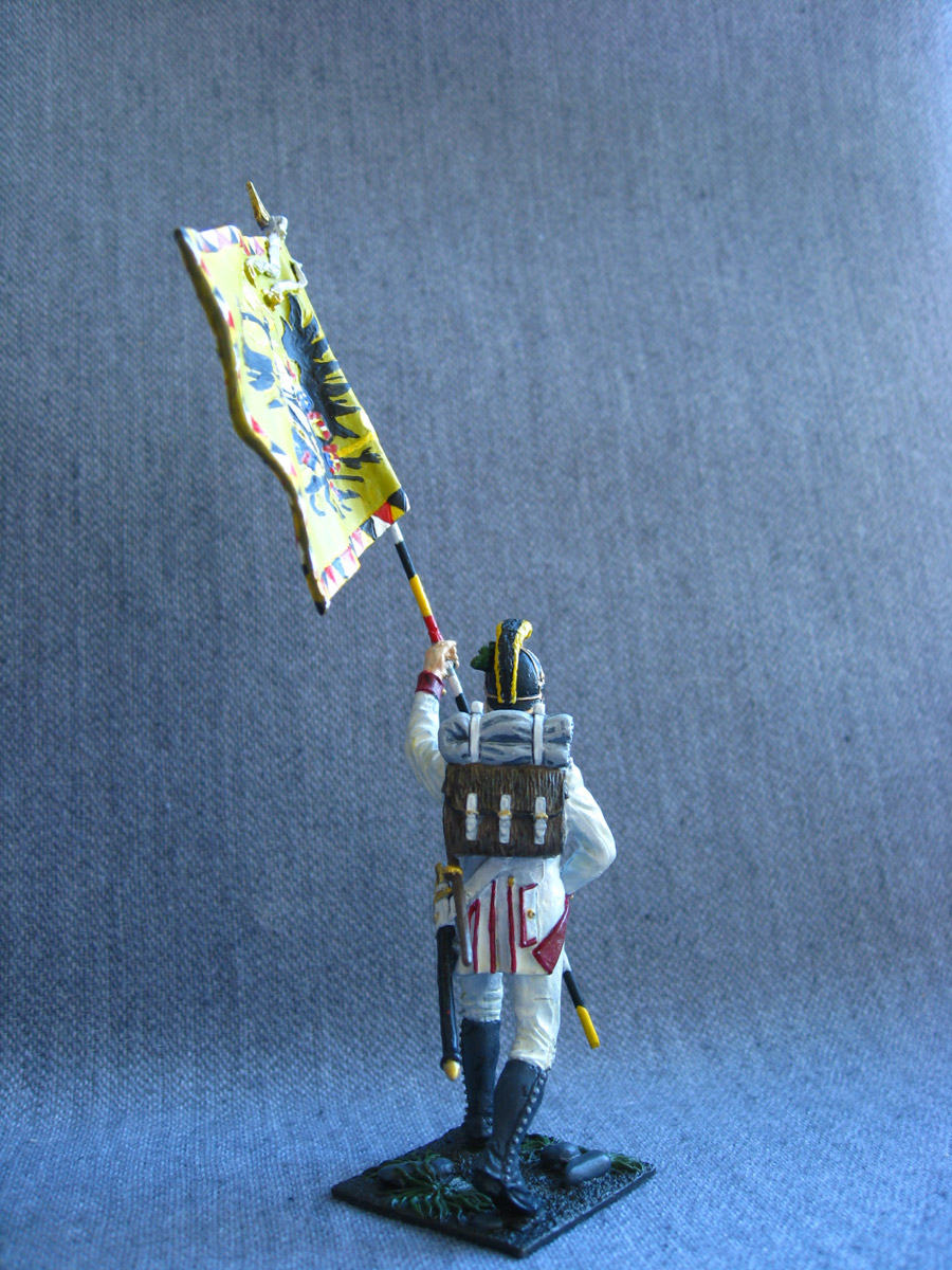 Учебка: Знаменосец 1-го полка линейной пехоты Кайзера Франца Иосифа I, фото #4