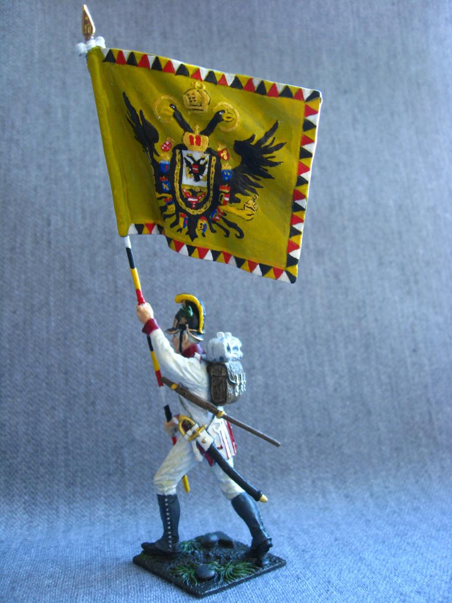 Учебка: Знаменосец 1-го полка линейной пехоты Кайзера Франца Иосифа I, фото #5
