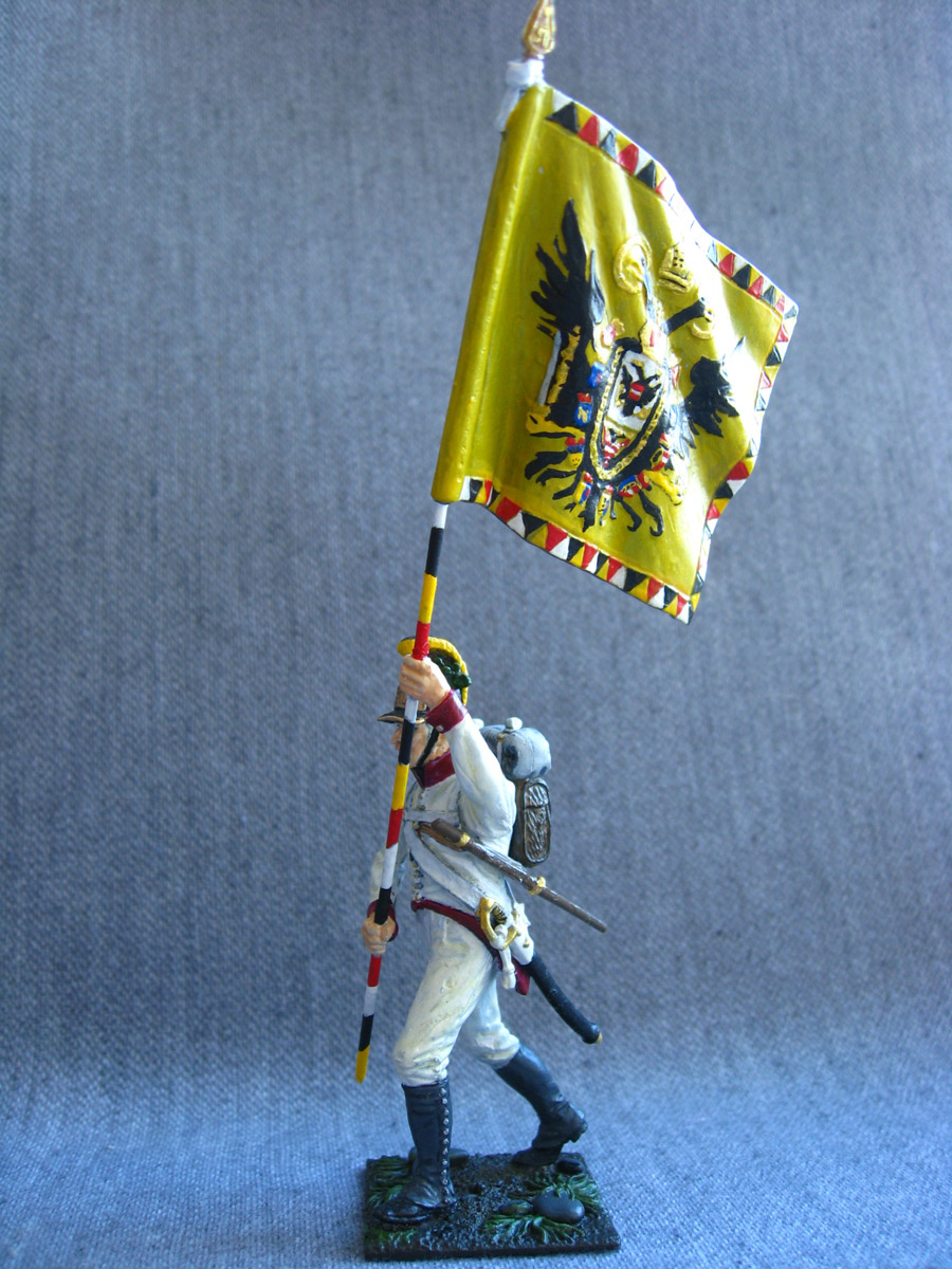 Учебка: Знаменосец 1-го полка линейной пехоты Кайзера Франца Иосифа I, фото #6