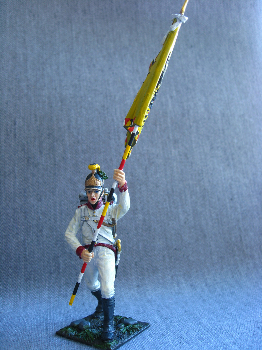 Учебка: Знаменосец 1-го полка линейной пехоты Кайзера Франца Иосифа I, фото #7
