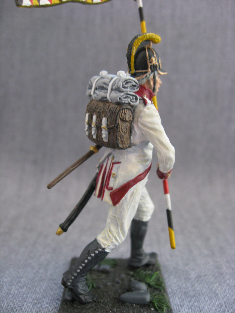 Учебка: Знаменосец 1-го полка линейной пехоты Кайзера Франца Иосифа I, фото #8