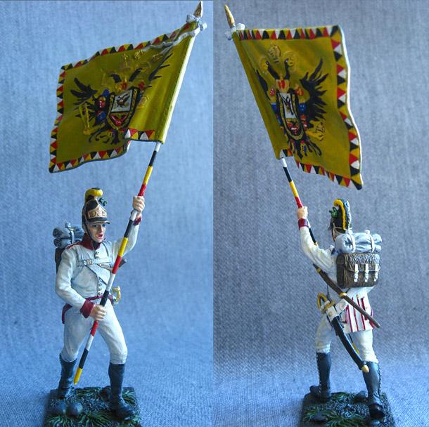 Учебка: Знаменосец 1-го полка линейной пехоты Кайзера Франца Иосифа I