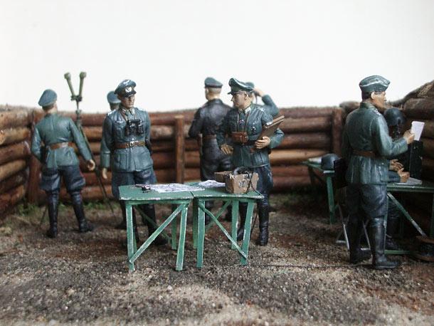Диорамы и виньетки: Наступление идёт по плану, господин генерал!