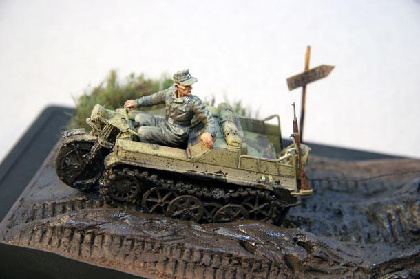 Диорамы и виньетки: Русская грязь. Восточный Фронт, 1944