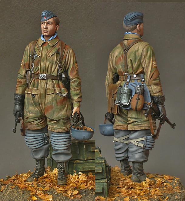 Фигурки: Фельдфебель-парашютист, 1943-45