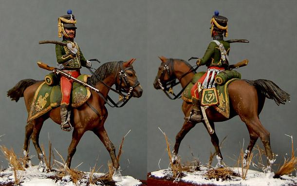 Фигурки: Рядовой 7-го гусарского полка