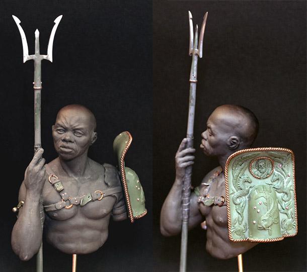 Скульптура: Ретиарий