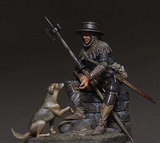 Фигурки: Средневековый пехотинец
