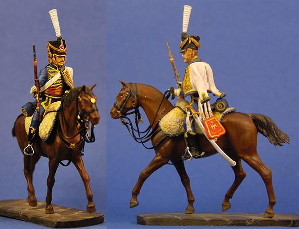 Фигурки: Французский гусар 5-го полка, 1812 г.