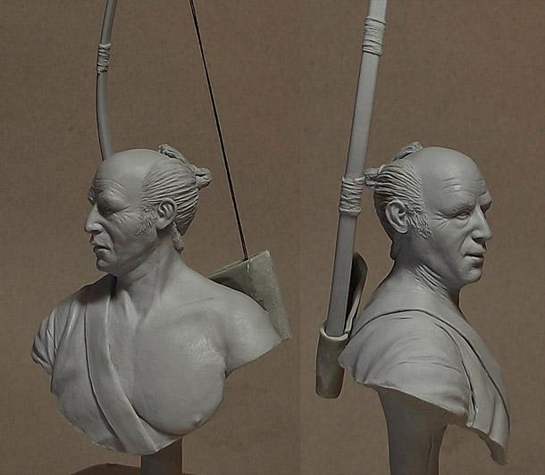 Скульптура: Лучник