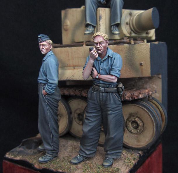 Диорамы и виньетки: Танковый экипаж