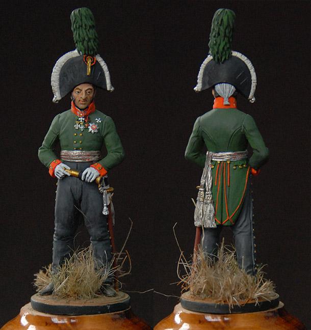 Фигурки: Генерал-лейтенант князь П.И.Багратион