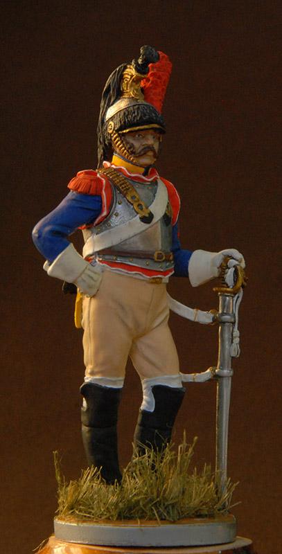 Фигурки: Французский кирасир 10-го полка, 1812 г., фото #1