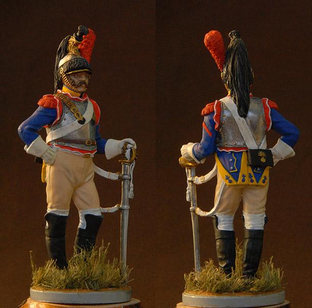 Фигурки: Французский кирасир 10-го полка, 1812 г.