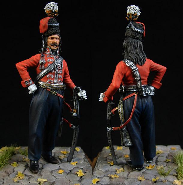 Фигурки: Офицер Лейб-гвардии казачьего полка, 1801-09гг.