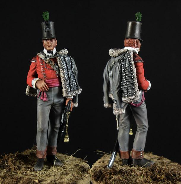 Фигурки: Офицер 43-го полка британской легкой пехоты