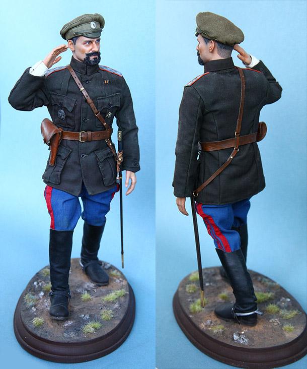 Фигурки: Генерал-майор В. О. Каппель, лето 1919 г.