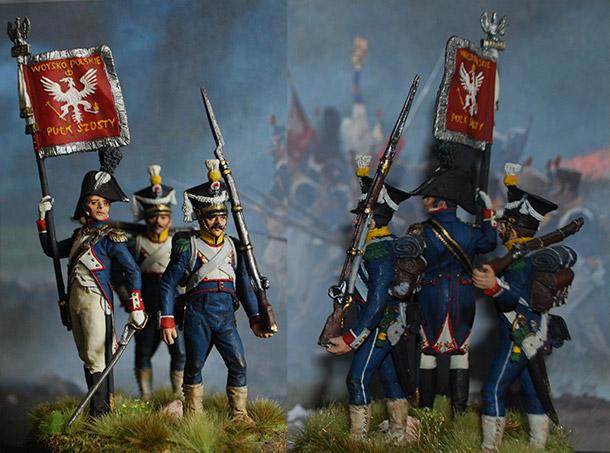 Фигурки: 6-й пехотный полк Великого герцогства Варшавского