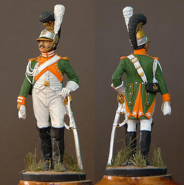 Фигурки: Рядовой королевской гвардии, Италия, 1811-12