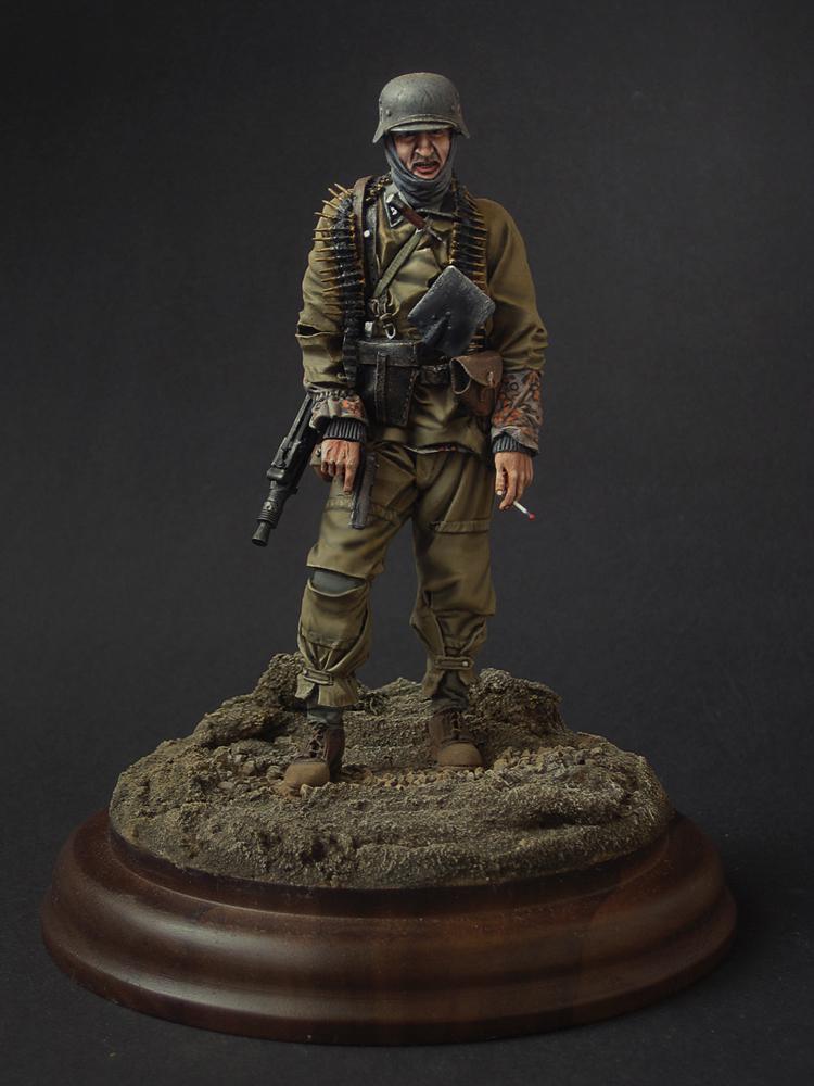 Фигурки: Пулемётчик войск СС, фото #1