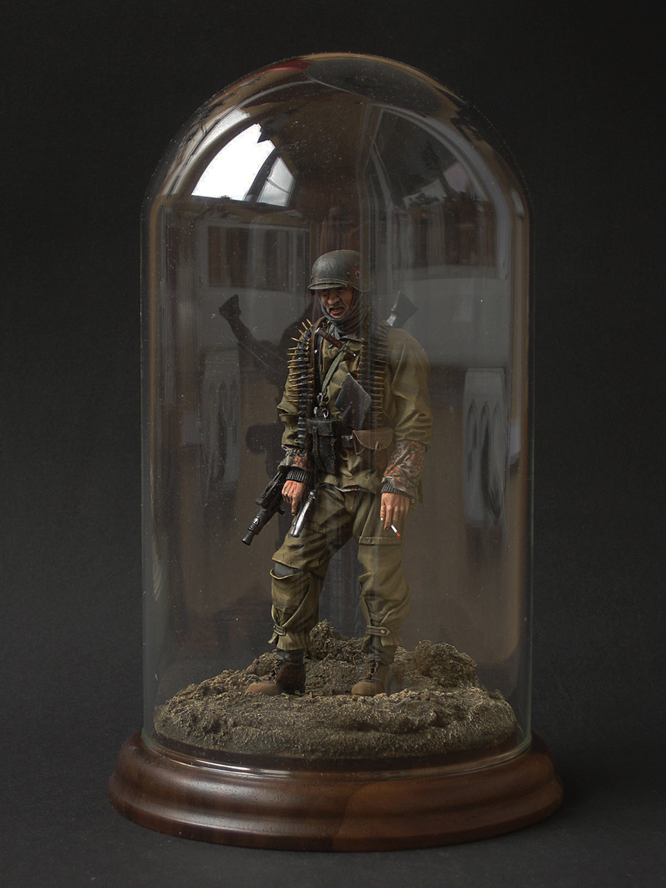 Фигурки: Пулемётчик войск СС, фото #8
