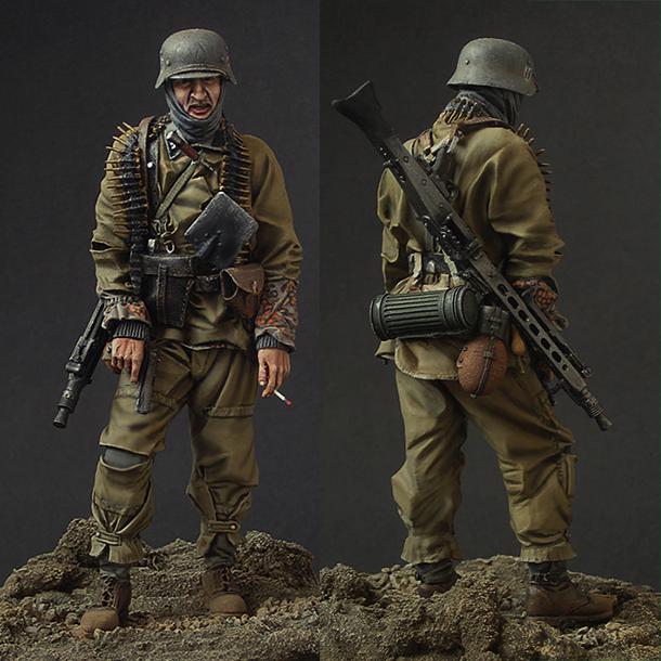 Фигурки: Пулемётчик войск СС