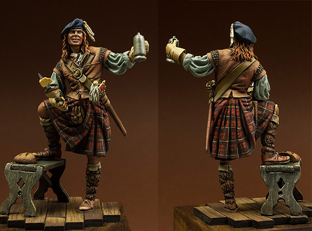Фигурки: Шотландец, 1640