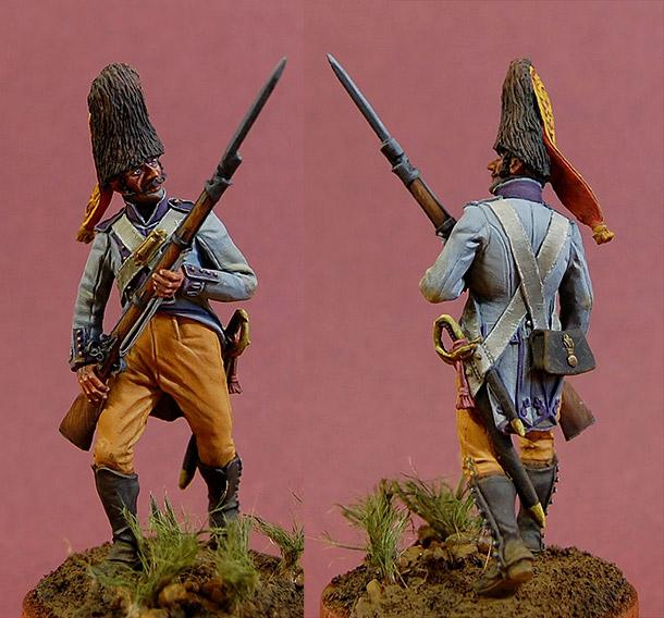 Фигурки: Гренадер полка «Принцесса», Испания, 1808