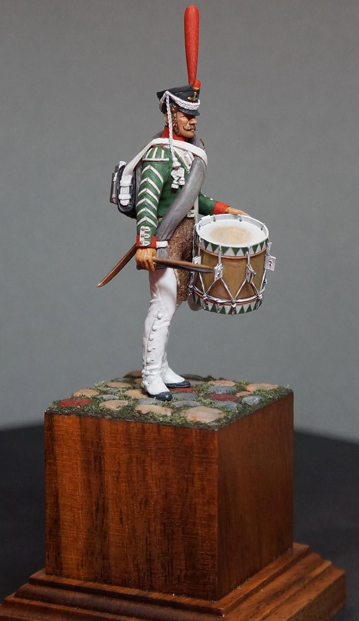 Фигурки: Ротный барабанщик гренадерских полков, 1812-17, фото #2