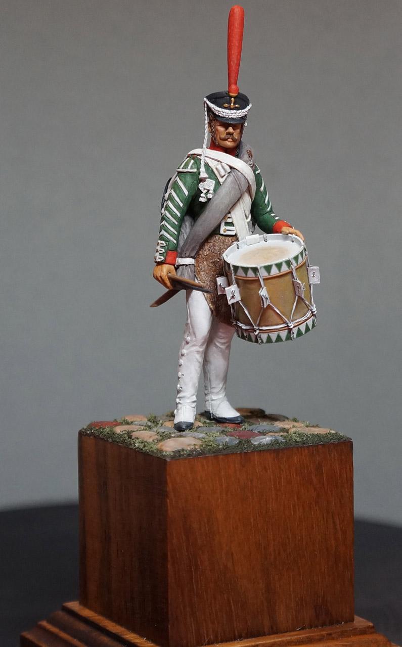 Фигурки: Ротный барабанщик гренадерских полков, 1812-17, фото #3