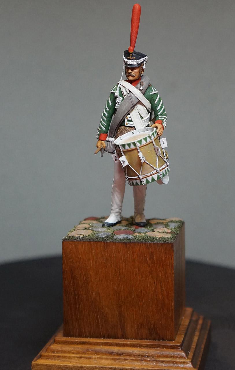 Фигурки: Ротный барабанщик гренадерских полков, 1812-17, фото #4