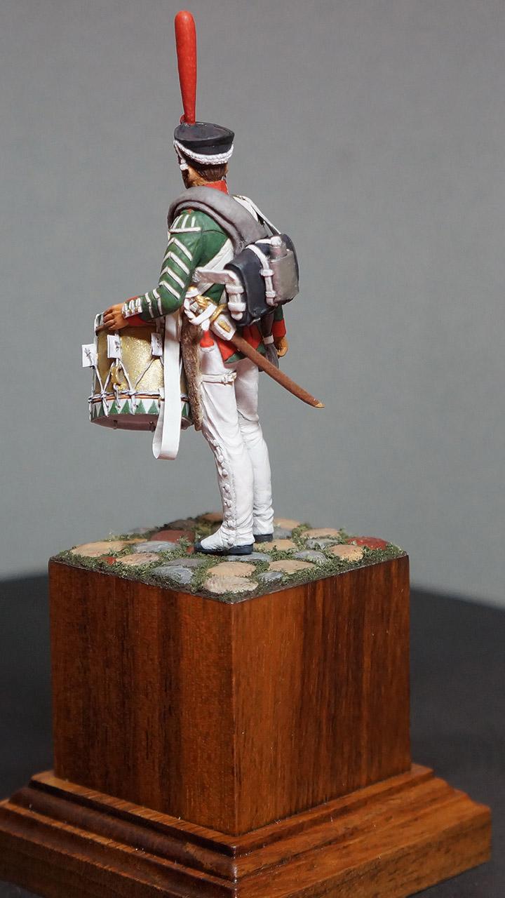 Фигурки: Ротный барабанщик гренадерских полков, 1812-17, фото #5