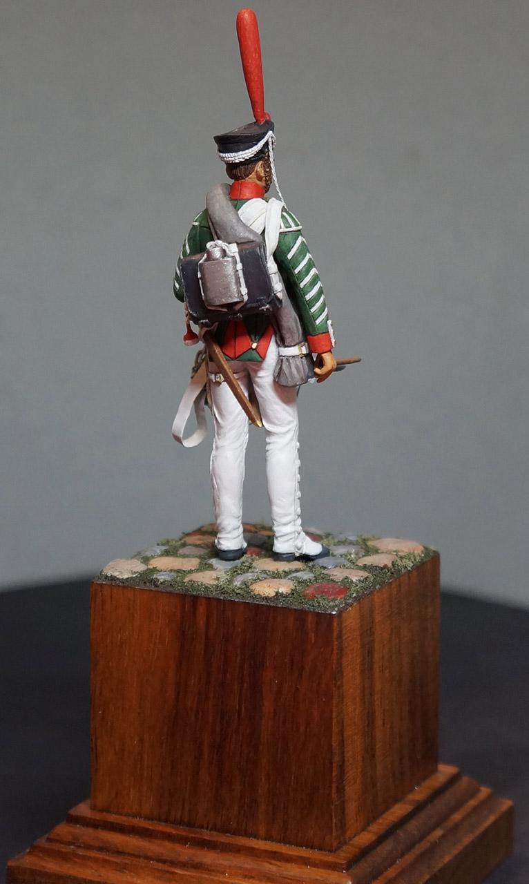 Фигурки: Ротный барабанщик гренадерских полков, 1812-17, фото #6