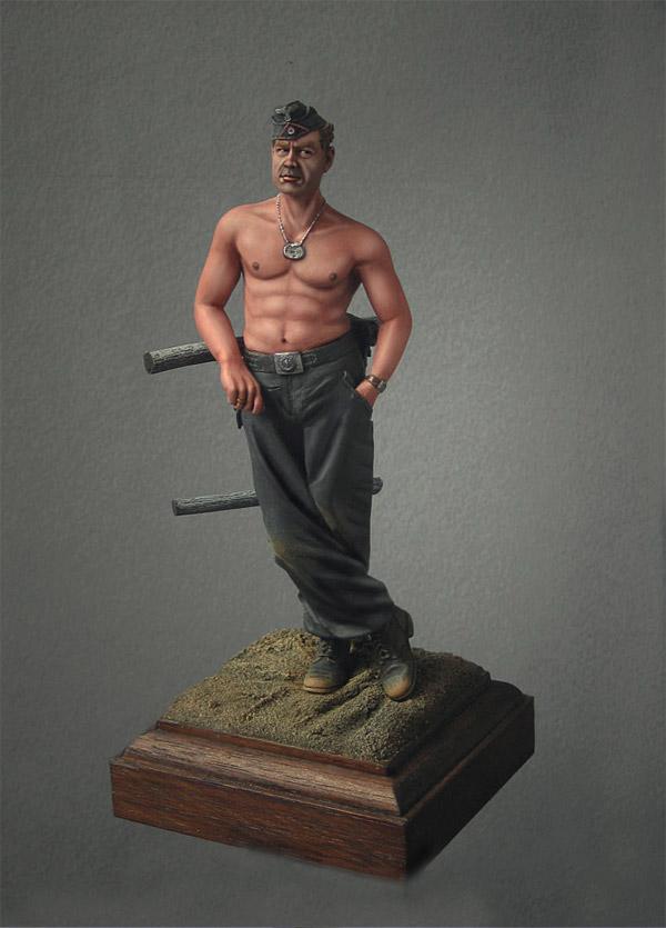 Фигурки: Танкист вермахта, фото #1