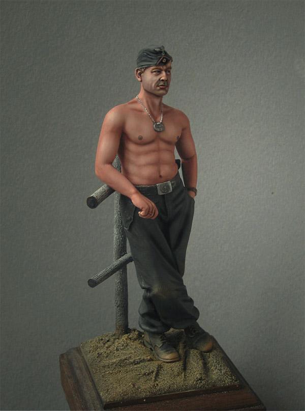 Фигурки: Танкист вермахта, фото #4