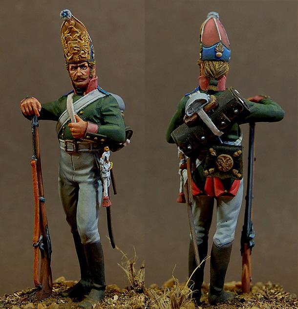 Фигурки: Гренадер Галицкого полка, 1805