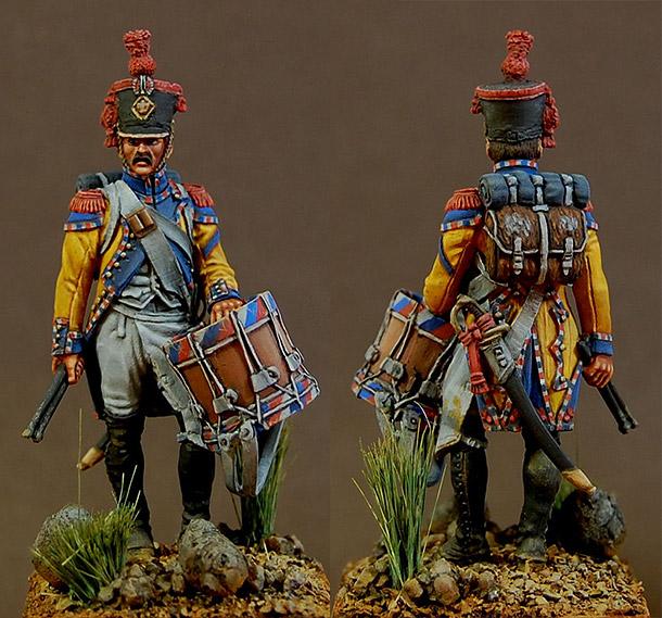 Фигурки: Барабанщик гренадерской роты 67-го пех. полка