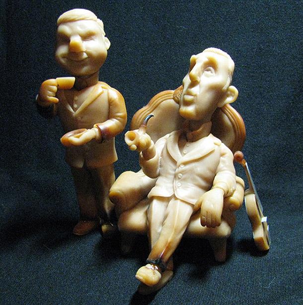 Скульптура: Элементарно, Ватсон! Часть первая