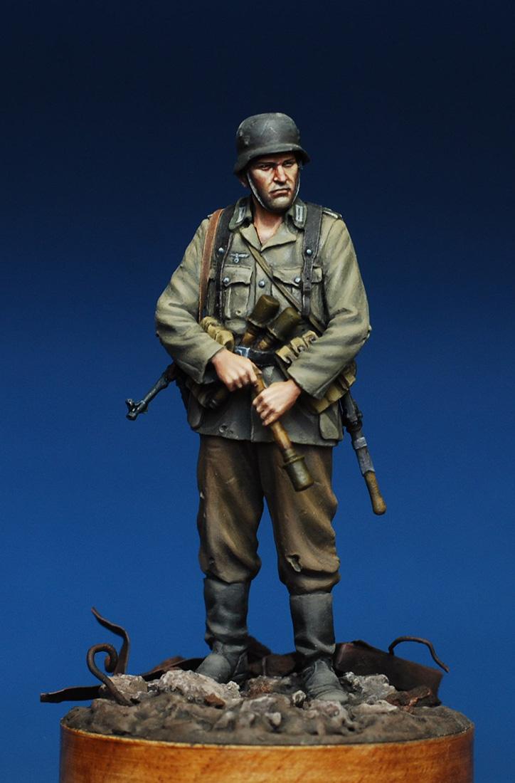 Фигурки: Немецкий пехотинец. Сталинград, 1942 , фото #8