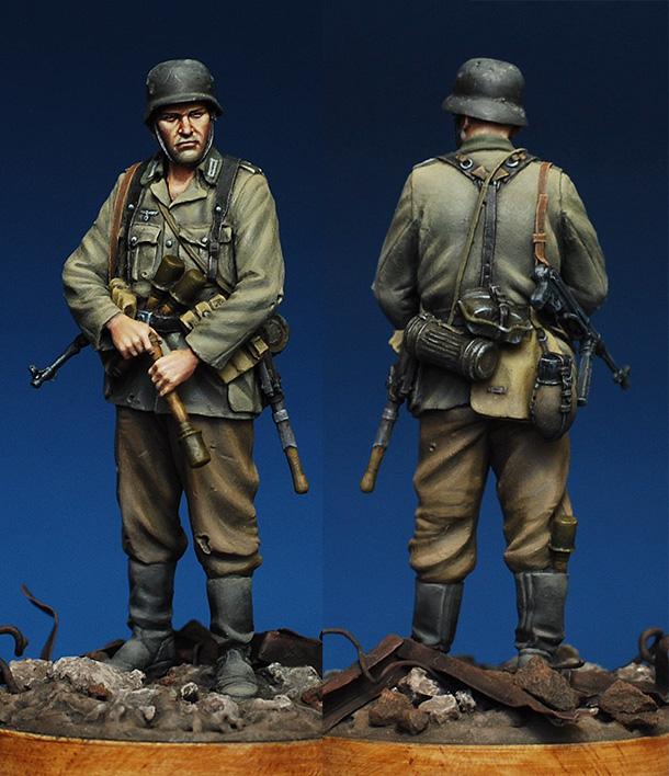 Фигурки: Немецкий пехотинец. Сталинград, 1942