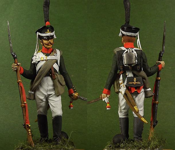 Фигурки: Гренадер 2-го  батальона Селенгинского пех. полка