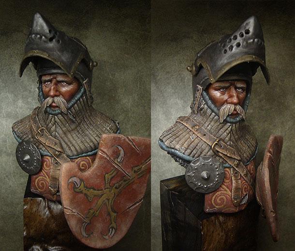 Фигурки: Германский рыцарь, XIV-XV вв.