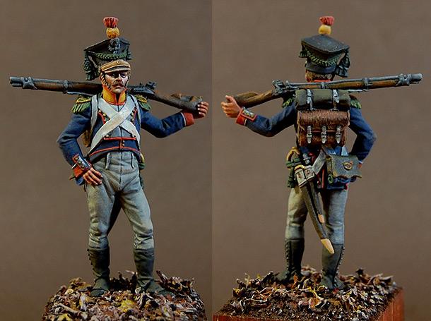 Фигурки: Вольтижер 8-го пехотного полка, Польша