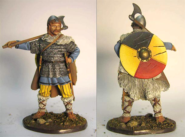 Фигурки: Викинг, IX-X век