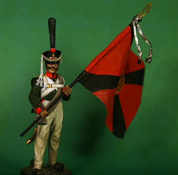 Фигурки: Рядовой 1-ой гренадерской роты Селенгинского