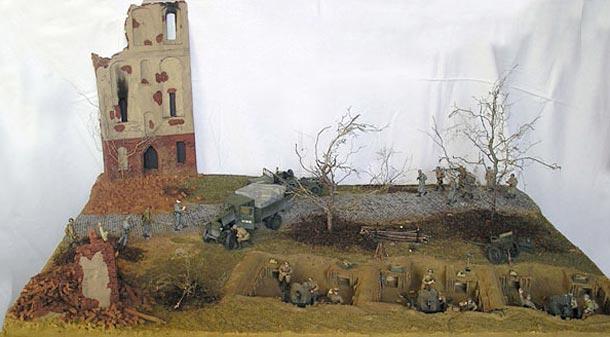 Диорамы и виньетки: Штурм Нарвы, весна 1944