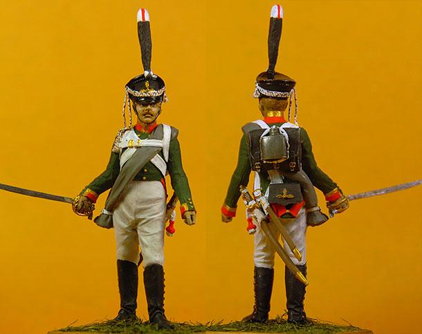 Фигурки: Унтер-офицер  3 гр.роты Селенгинского пех. полка.