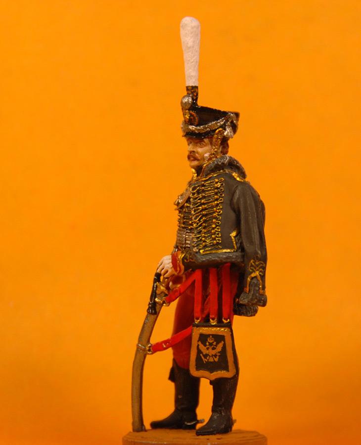 Фигурки: Обер офицер Иркутского гусарского полка 1813-14 гг., фото #2